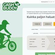 Selkeät kulutusluotot Cashbuddylta