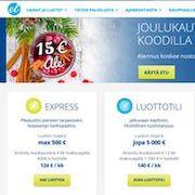 Luotettava Suomalainen kulutusluotto
