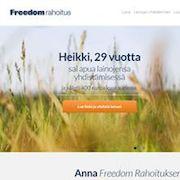 Yhdistä nykyiset lainasi halvempaa Freedom Rahoituksen avulla